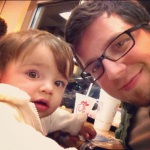 JR & Emma Daddy-Daughter Night at Chickfila