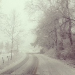 Our road- 1/17/13