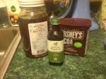 Ingredients minus the avocado