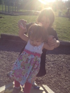 Mommy & Emma at the Park